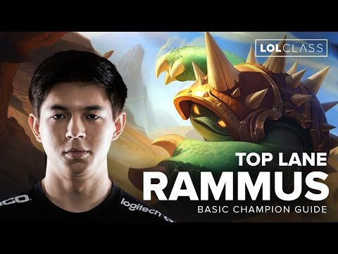 Rammus Top Tank Guide by TSM Hauntzer - Season 6 | League of Legends