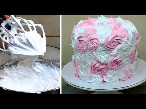 Italian Meringue Frosting Recipe - How To by CakesStepbyStep