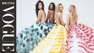 Victoria's Secret Angels Vogue Photoshoot   All Access Vogue   British Vogue