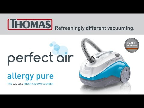 The vacuum cleaner for people with allergies: THOMAS perfect air allergy pur