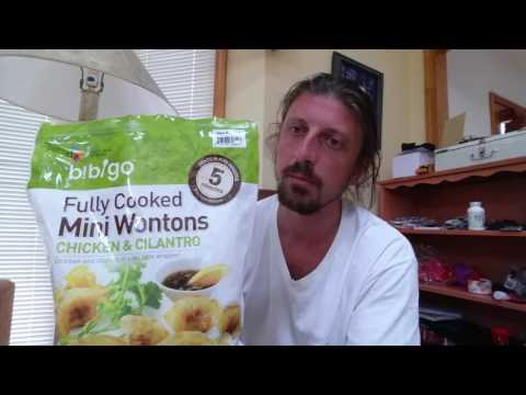 Costco BiBiGo Fully Cooked Mini Wontons Chicken & Cilantro Product Review