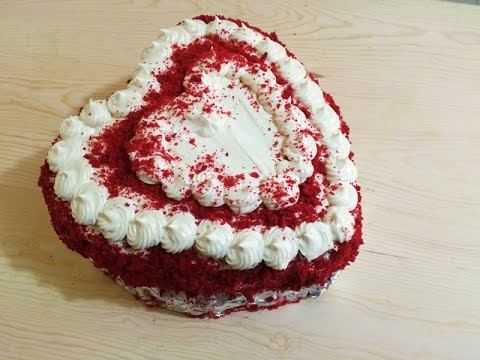 Red Velvet Cake for Father's Day, easy recipe!