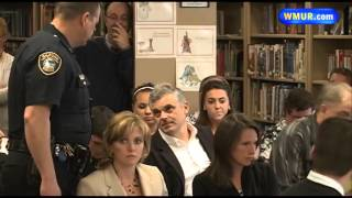 Raw video: Man arrested at Gilford school board meeting