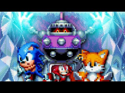 FROZEN! Nemesis Revenge #6 : press garden . Sonic mania sprite animation