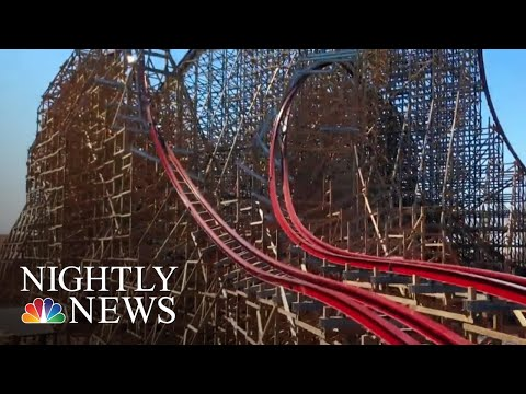 New Rollercoaster Is Breaking World Records At Every Twist And Turn | NBC Nightly News