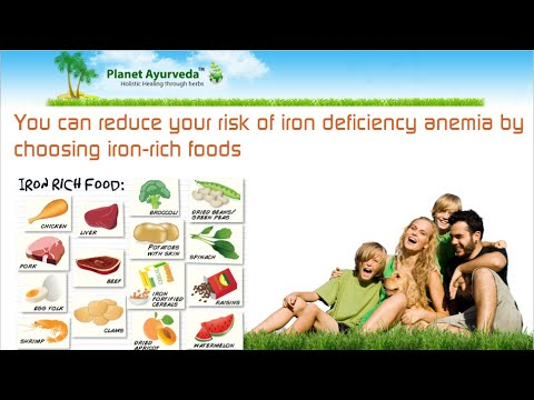 Iron-Rich Foods for People with Anemia (Iron-deficiency)