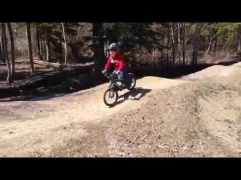 Pump Track in Canmore, Alberta