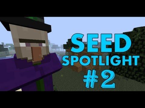 Minecraft 1.7.4 Seed Spotlight: DUNGEON INSIDE PYRAMID AT SPAWN! #2
