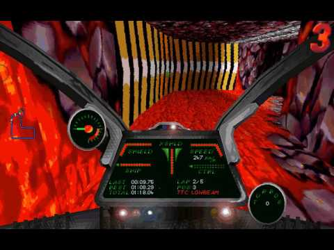 DOS Game: Battlerace