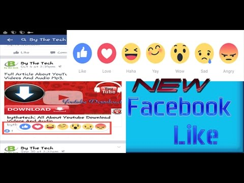 Get New Facebook Like Feature | Emoji Buttons