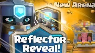 Clash royale - introducing the reflector + New arena (new legendary card, dungeon concept idea)