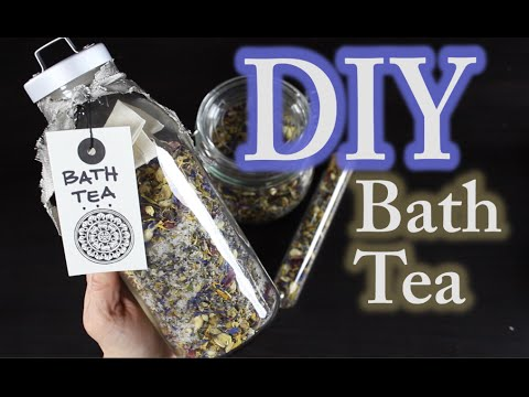 DIY Bath Tea - How To Make Bath Tea