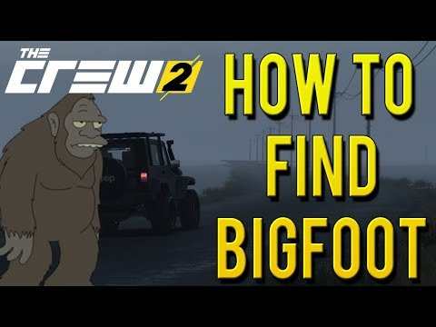 HOW TO FIND BIGFOOT! | The Crew 2