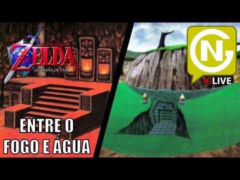 Templos do Fogo e Água | Zelda: Ocarina of Time 3D #4