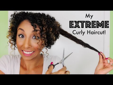 My EXTREME Curly Haircut Experience! | BiancaReneeToday
