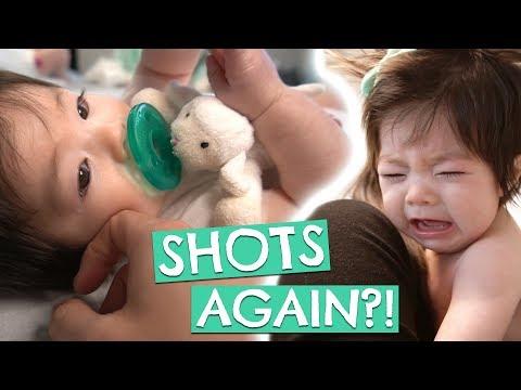 Leia's 4 Month Shots