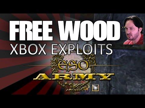FREE WOOD - ELDER SCROLLS ONLINE XBOX EXPLOITS