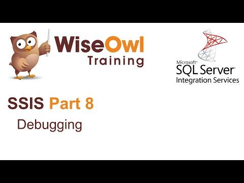 SQL Server Integration Services (SSIS) Part 8 - Debugging