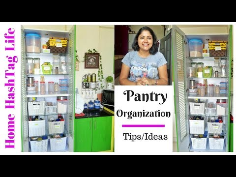 Home Organization || Indian Kitchen Organisation - Pantry Organization | Home HashTag Life