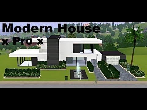 Sims 3 - Modern House building