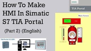 How To Create SCADA System In TIA Portal and PlcSim and HMI