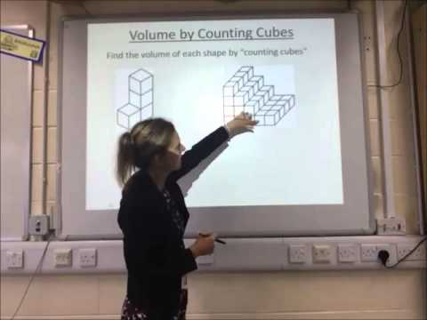 S12 - Volume by Counting Cubes