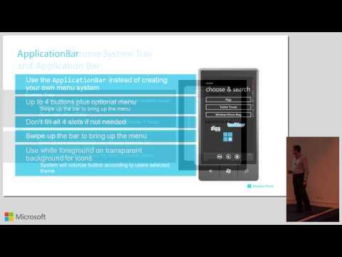 Windows Phone 8 Developer Workshop: Building Windows Phone 8 Application
