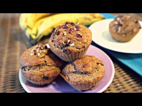 Vegan Bananabread Muffins Recipe (Oil-Free)