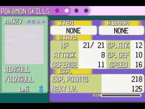 Pokemon Emerald - Hard Edition (beta 1.03) (GBA) - Vizzed.com GamePlay (rom hack)
