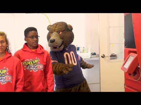 Staley Da Bear Brings Football to The Farm