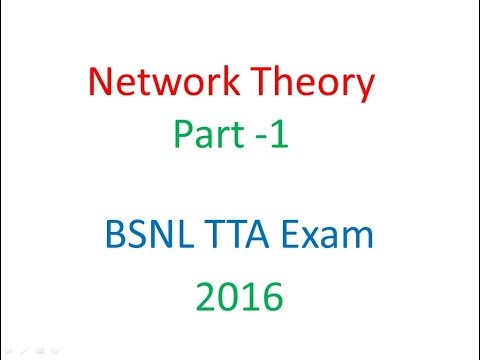 Network_Theory_network Therems_Part 1
