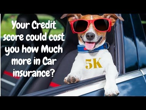 Does your credit score affect your car insurance?