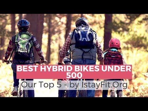 Best hybrid bikes under 500 - 2018 Top Picks
