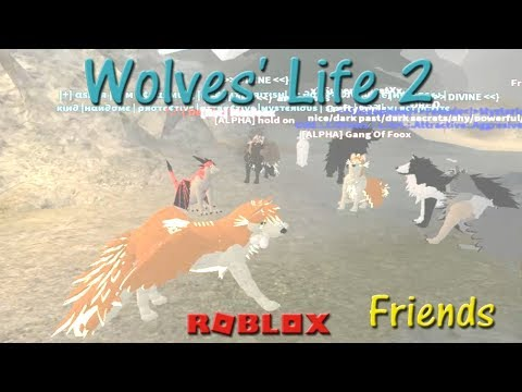 Roblox - Wolves' Life 2 - Friends X - HD