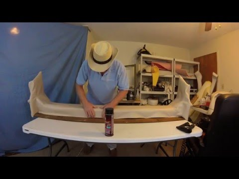 Boat Upholstery Chap 27 Part 2 of Monterey Backrest Conclusion