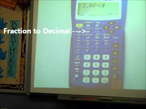 Fractions with Calculator