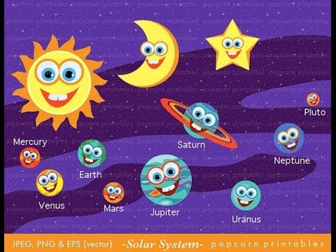 Kids Learn about Planets , Solar System Facts for Kids |  Stars,The Planet By MediaWeb.co.il