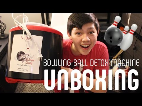Unboxing of a Bowling Ball Rejuvenator From Amazon.com