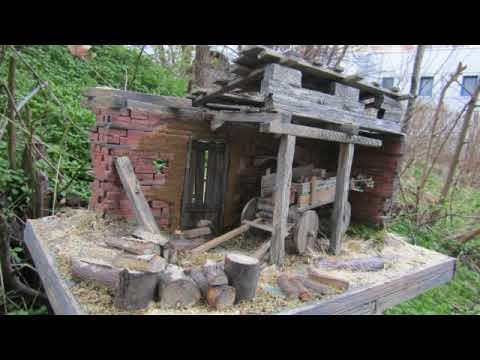 Diorama making (realistic house)