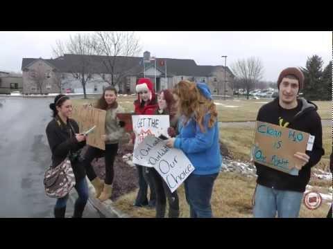 SEA/Ban Michigan Fracking Protest