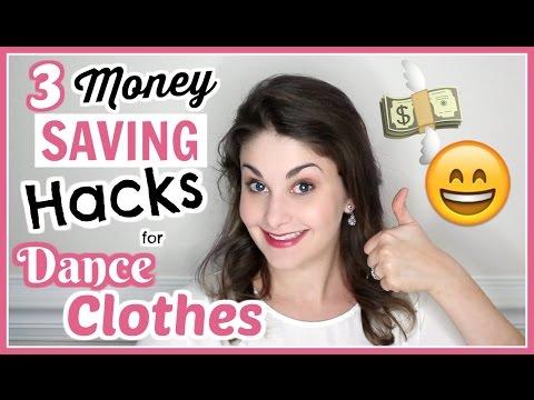 3 Money Saving Hacks for Buying Dance Clothes | Kathryn Morgan
