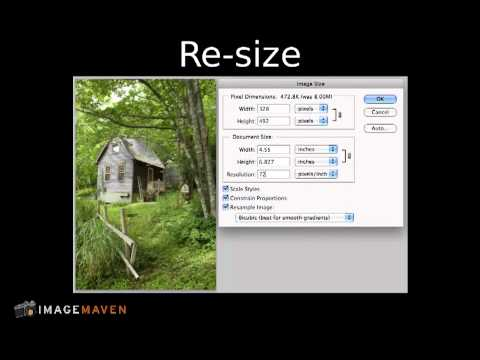 Photoshop Elements editing: Image size and resolution explained