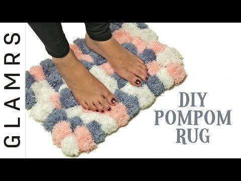 DIY Pom Pom Rug - Easy & Creative | Awesome DIY Home Decor Ideas
