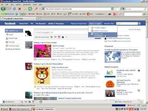 Change Facebook Language into Pirate Language