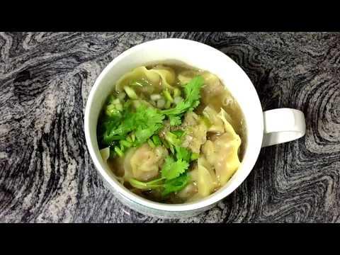 Thai Wonton Soup เกี๊ยวน้ำ