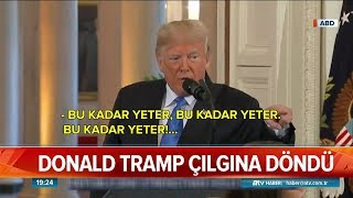 Trump'tan CNN muhabirine çok sert.. - Atv Haber 8 Kasım 2018