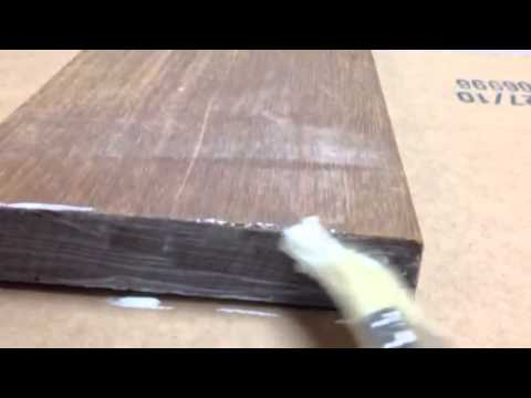 How to Apply Anchorseal End Sealer to Ipe Decking