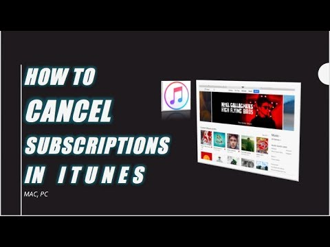 How to cancel subscriptions in iTunes