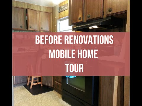 Before Renovations | Mobile Home Tour