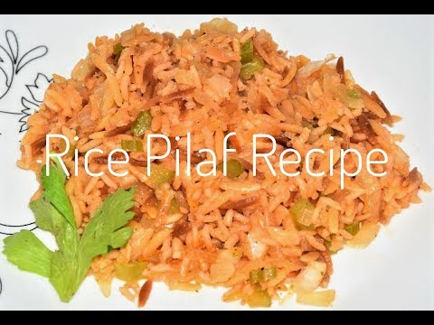 How To Make Rice Pilaf - Rice Pilaf With Orzo